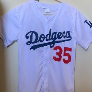 NEW Cody Bellinger Dodgers Jersey - White - XL